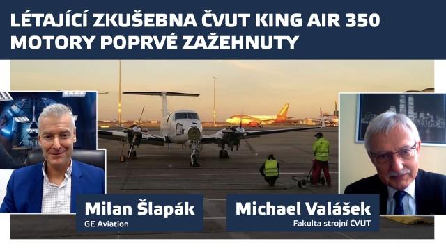 Létající zkušebna ČVUT: Motory poprvé zažehnuty