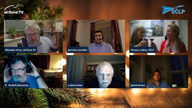 Vánoční diskuse SČLP – přání lídrů leteckých firem