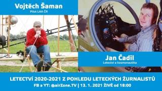 ŽIVĚ: Letectví 2020 – 2021 z pohledu leteckých žurnalistů