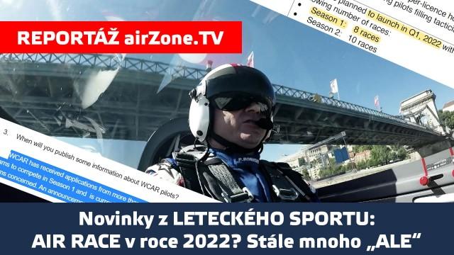 """AIR RACE v roce 2022? Stále mnoho """"ALE"""""""