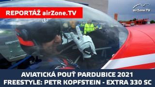 Aviatická pouť 2021: Petr Kopfstein, freestyle Extra 330 SC
