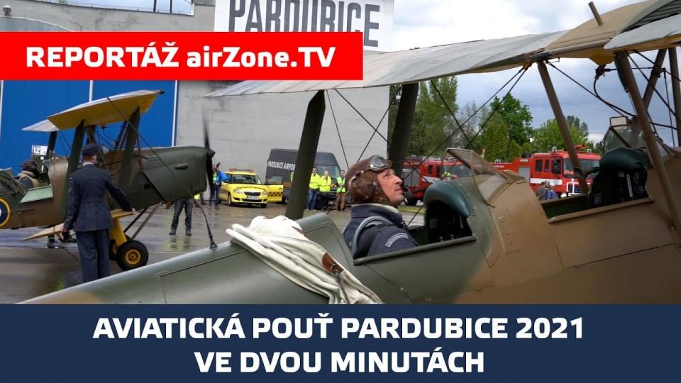 Aviatická pouť 2021 ve dvou minutách