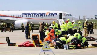 TISKOVÁ ZPRÁVA: Na Letišti Praha proběhne pohotovostní cvičení letecké nehody